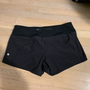 Lulu Lemon Black Shorts